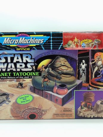Star Wars Micromachines Planet Tatooine Galoob Vintage Colección