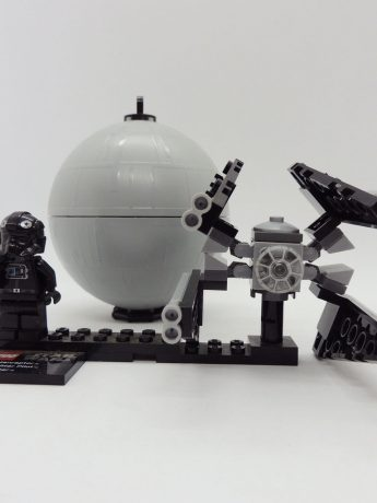 Star Wars Tie Interceptor & Dead Star Lego 9676 Colección