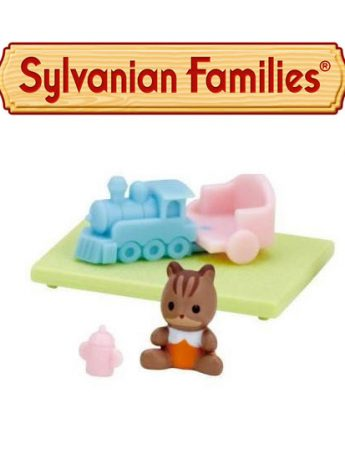 Sylvanian Families Baby House And Garden Japan Exclusive Baby Toy Train Capsule Epoch Colección
