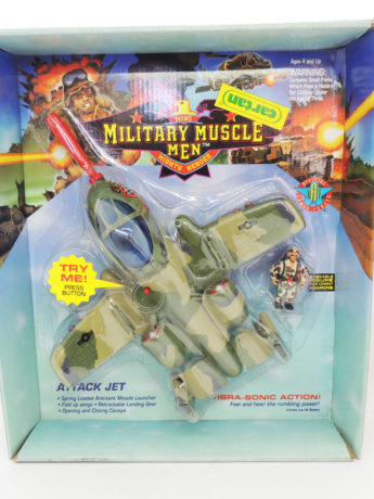Military Muscle Men Mithy Heroes Attack Jet Toymakers 1993 Antiguo Retro Vintage Colección