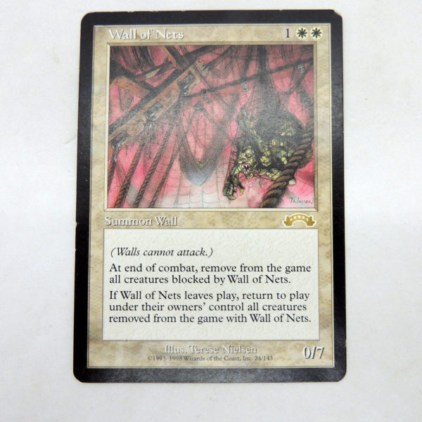 Magic The Gathering Wall Of Nets Exodus MTG TCG Colección