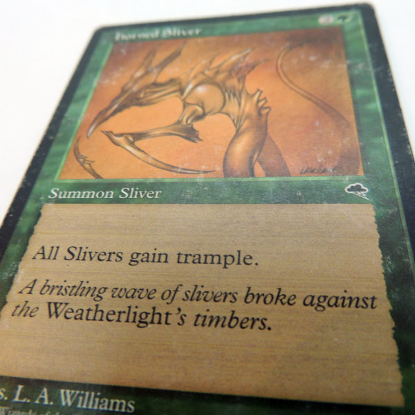 Magic The Gathering Horned Sliver Tempest MTG TCG Colección